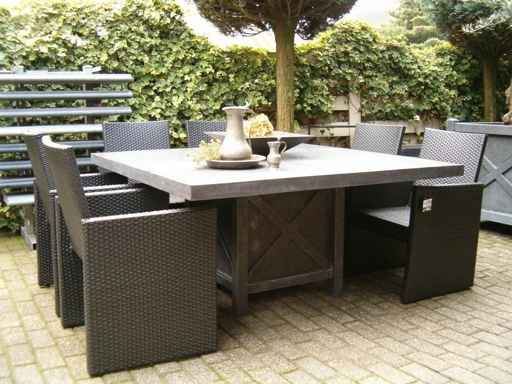 Vierkante Eettafel 150x150 Cm.Moderne Tafel 150 X 150 Strak Blad 6cm Van Heusen Natuursteen Rucphen
